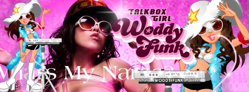 Radio WHAT - Featured Artist - WODDYFUNK - Talkbox player of the woman who is rare in the world!! she poured an old school funk a new wave!! It is a new genre called 'Funk-A-Pop'!!! If you don't know you better ask somebody. WODDYFUNK is off the chain!! 2012, I was announced the FUNK tune 'Dance and Get Your Funky On' with Greg Jackson of ZAPP. WODDYFUNK was appointed to the Japanese face of the Bootsy Girls that Bootsy Collins organized. Woddyfunk F Greg Jackson - Dance AND GET Your Funky ON (Radio Version). Search the playlist under 'W' and bang those blue request buttons on Radio WHAT at http://www.radioWHAT.com/.