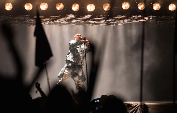 WATCH: Kanye West Glastonbury Performance Interrupted By Stage Crasher